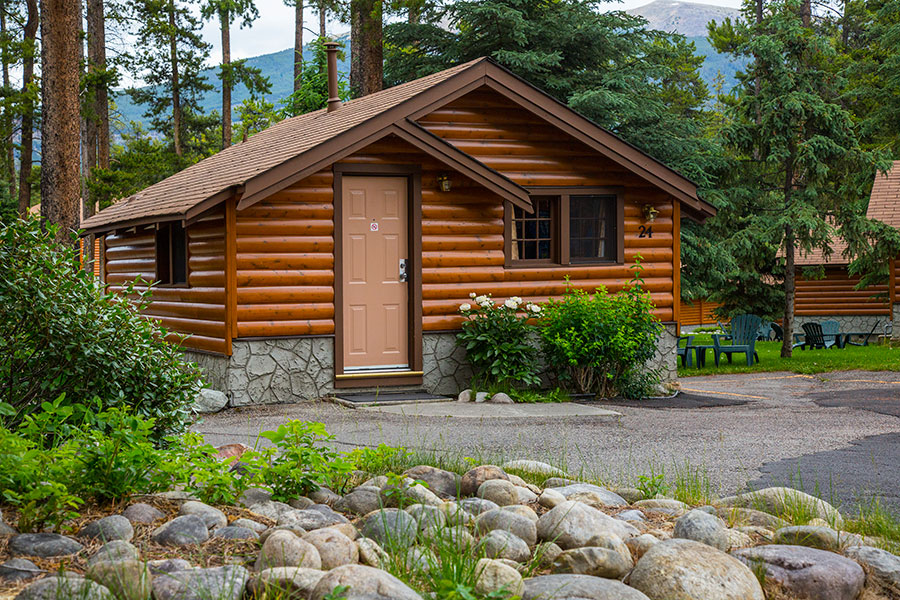 Jasper Log Cabin for 2 Persons Becker's Chalets